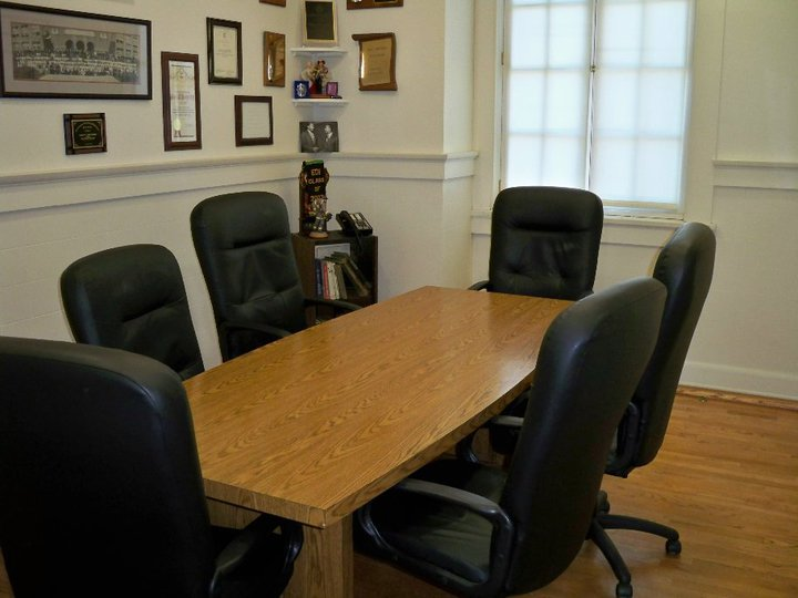 The Arnett Hartsfield Conference room used for meetings.