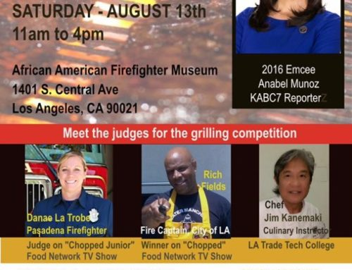 The first annual Fire It Up BBQ competition is set for August 13th!