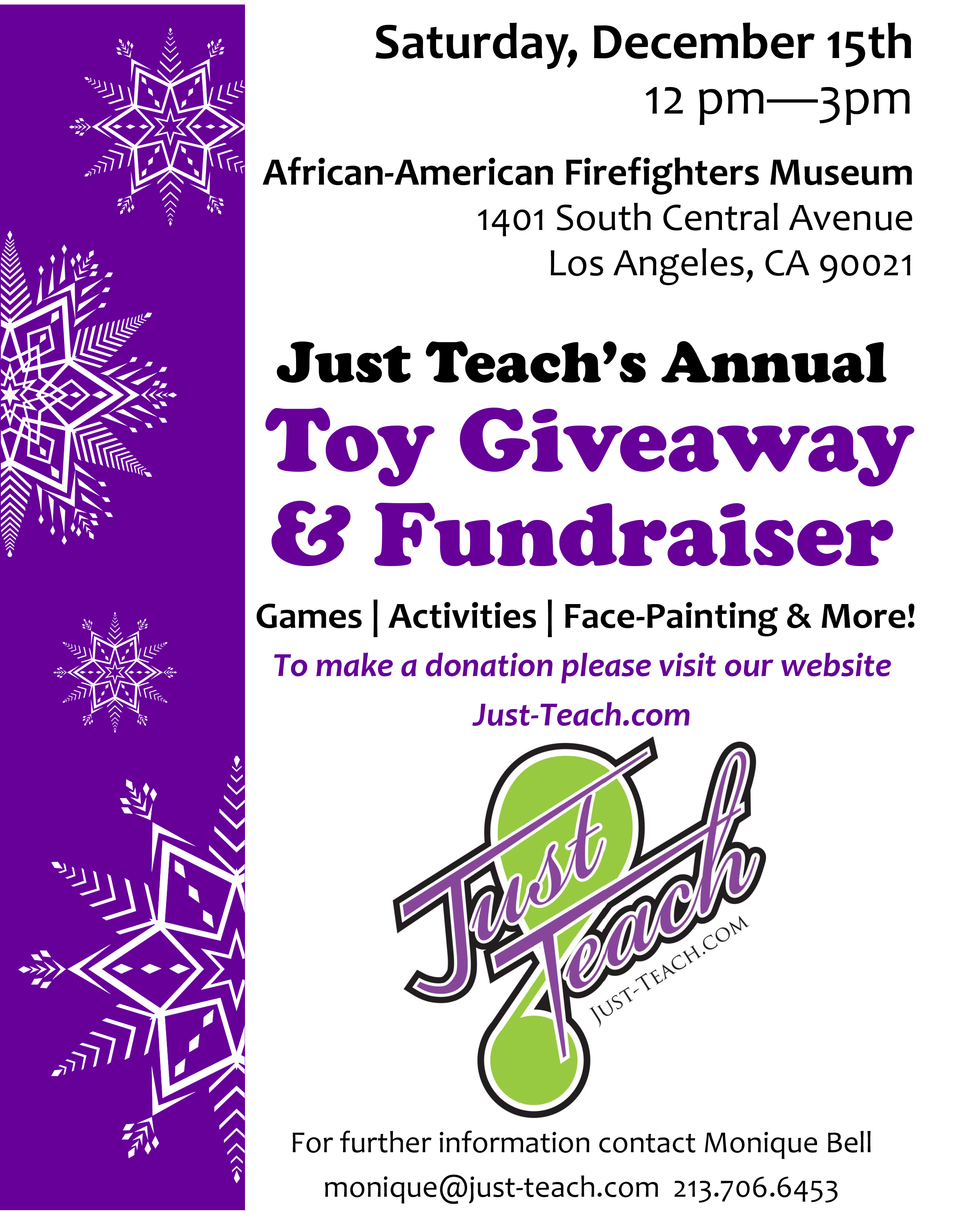 toy giveaway flyer revised 1 the african american firefighter museum