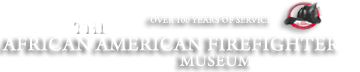 The African American Firefighter Museum Retina Logo