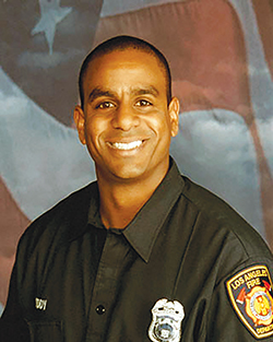 Fire Inspector Michael P. Reddy